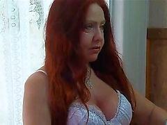 Rossa matura nell'ambito brasiliano tre