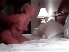 Dark guy fucks pussy madly during sex