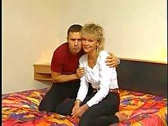 German mom Fucks On Camera