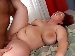 Fat tyttö karvainen pillua perseestä