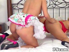 De Les webcamshow con caja lame de Aaliyah del amor de