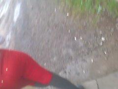 3 kırmızı Mulata gostosa rebolando kot