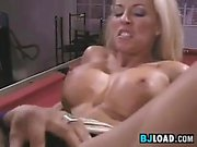 Blonde MILF Wants His Dark Dick In Her