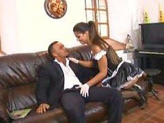 Méchant espagnol Femme de ménage