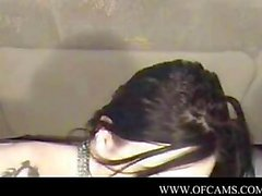 La fille gothiques incrustées sur Webcam par des snahbrandy pyt
