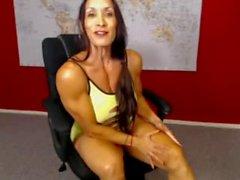 Denise On Webcam 2-04-2015