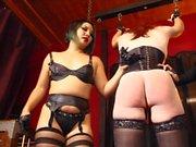 Cybill Troia - punishmesnt zur Sissy Sklave