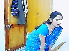 Di coppia indiana in viaggio di nozze Caught On nascosti della camma