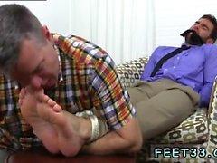 Ebony piernas Chico y una twinks homosexuales pies grandes de Chase T LaChance