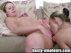 Sunny and Holly kissing and pussy licking