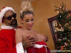 Bad Santa a Shane diesel de jode de Tanner de Mayes