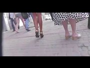 Sous les jupes Dans Mannequin BVR