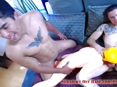 Sailor & Marine Play With Sex Doll