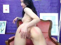 FTV filles solo brunette doigté pussy porno