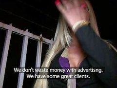 PublicAgent Stunning blonde with big tits fucks a stranger