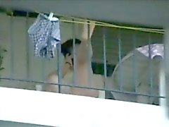 balcon mistos balkondaki komsular