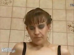 German Mature Cleaning Piss