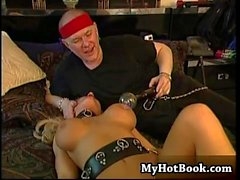 Brittany Andrews is an obedient slave and one look