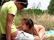 Adelle loves having sex out in nature, so she had her boyfri