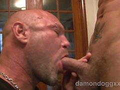 Una vez más llegué de Chad a Brock nuevo frente a a la cámara para