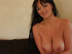 Breasty british nudist shares perverted secrets