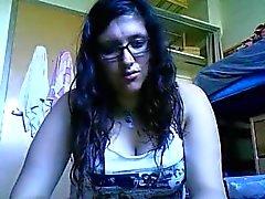 Óculos Omegle , boobies e lábios PPH quente