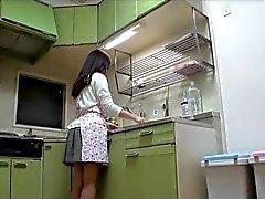 Hairy Milf el Japón cogida comedor