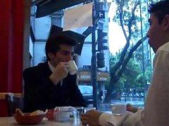 compañeros de trabajo Jovencitos echar un polvo, después del café
