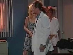 Leena Asia Carrera Tom Byron i klassisk tjänsten XXX klippet
