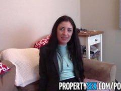 PropertySex - Klient får reda fina fastighetsmäklare som ligger av hög klassens eskort