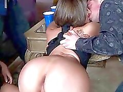 Teen slut gets rough DP