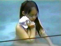 voyeur meninas asiáticas