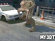 Hot 3D blonde fucked hard by the Incredible Hulk
