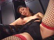 Japanese Lactating Dildo Tittyfuck