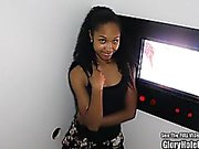 Petite Ebony Beleza Nice Ass Glory Hole Blowjobs