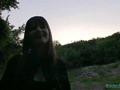 PublicAgent Czech Cute Babe Fucks on Public Park