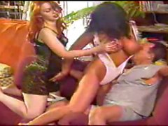 Vintage Anal Threesome
