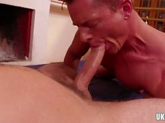 big dick botten analsex med cumshot video