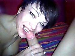 harika oral seks derin boğaz cum yüz ağız ile Deborah dönmek