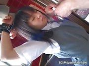 Молодых азиатских Hottie запускается на обязан кухни часть6