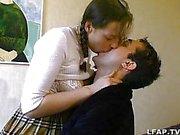 Fransız amatör çiftyatakta seks