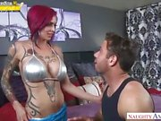 Anna Bell Peaks Stepmom Takes Care Of Naughty Needs