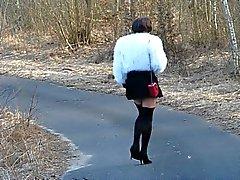 auf EINEM Ordförande Spaziergang