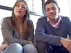 Los pares bienes hacer una casting porno en Colombia