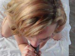 Pornosterren Micky Umb. ficken junger blonde Babe Dahlien Himmels
