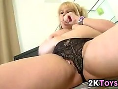 Fat Girl Strips And Masturbates