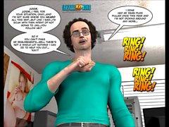 3D Комикс : Raymond . За зеленой дверью . Серия 8