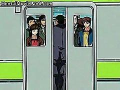 Супер секси японского бесплатна хентай видеосигнал часть5