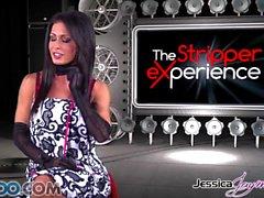 JessicaJaymes - Jessica toma dos pollas como un campeón a la vez