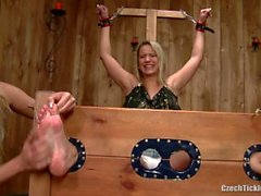 Tied And Tickled Feet by Samantha !